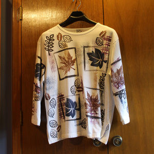Vtg Physical Attraction Too Autumn Sweatshirt